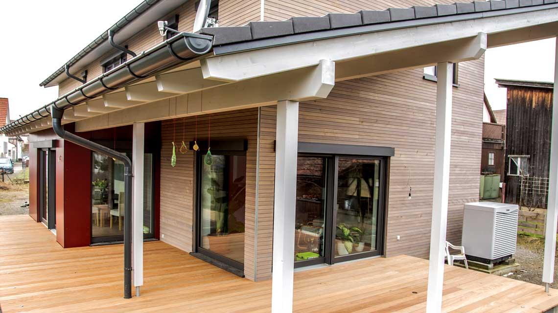 Neubau Holzrahmenhaus - Holzbau Nisch